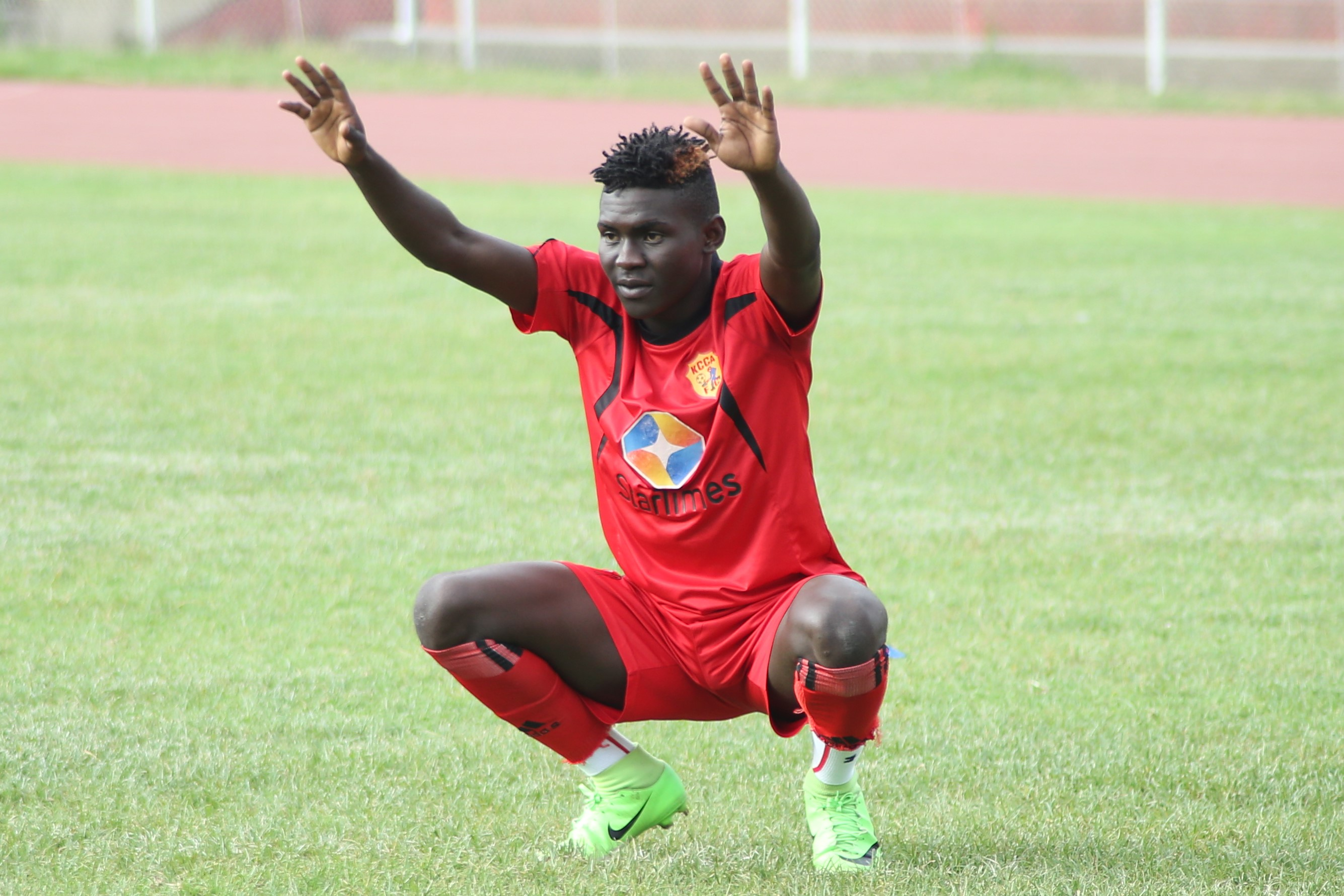 Shaban scored 13 goals for KCCA FC in his last season in Uganda.