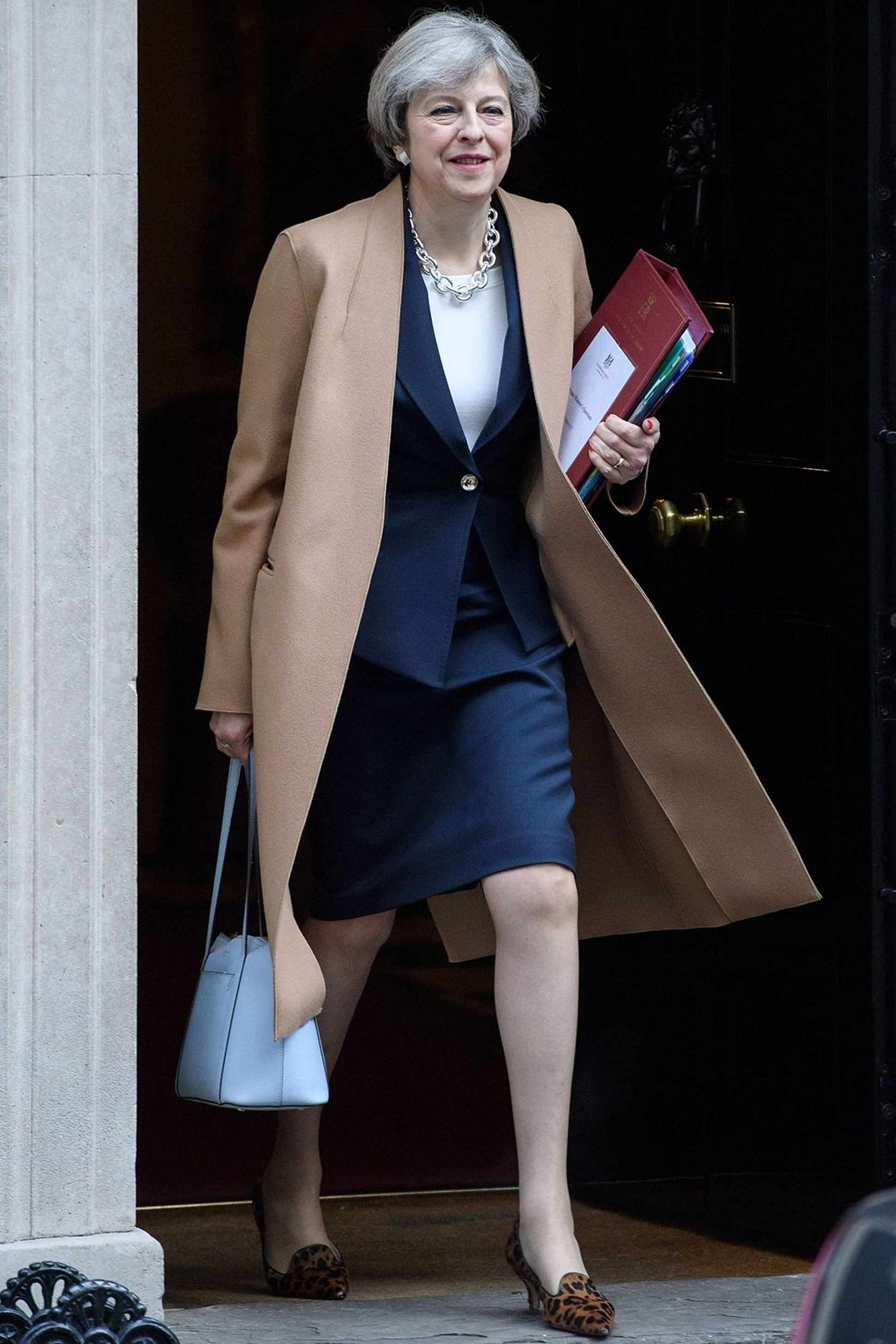 Prime Minister of UK and Leader of the Conservative Party, Theresa Mary May (AGENCIES)