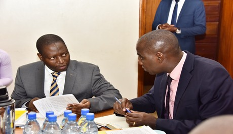 Finance_committee_Chaired_by_Hon._Henry_Musasizi_meeting_State_Min_for_Finance_David_Bahati_to_cralify_on_Tax_bills_he_tabled_recently_26th_April_2018_6051