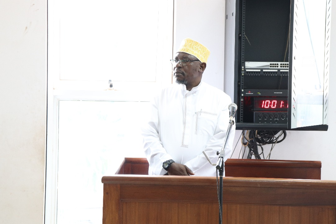 Sheikh Yunus Kamoga at the Court of Appeal on Wednesday: FILE PHOTO