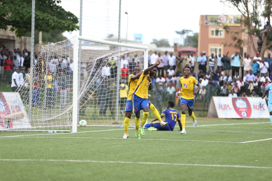 KCCA scored seven goals for the first time this season (photo by Shaban lubega)