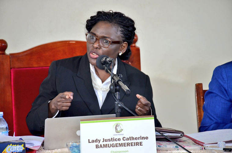 Justice Catherine Bamugemereire has been shortlisted for Supreme Court Judge. (PHOTO/File)