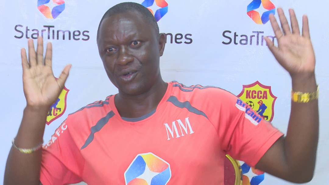 Mike Mutebi says a point was good enough against URA FC. (PHOTO/File)
