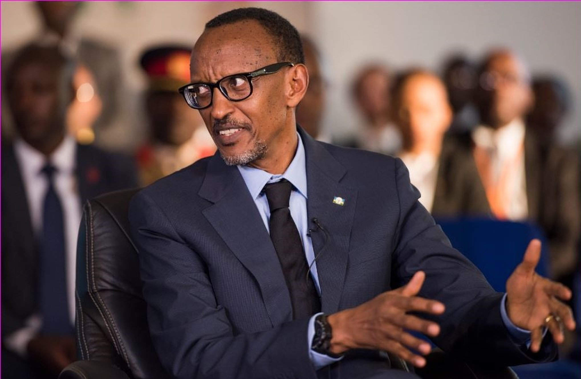 President Paul Kagame sanctioned a that will see the release of over 2,000 people from Rwandan coolers (FILE PHOTO)