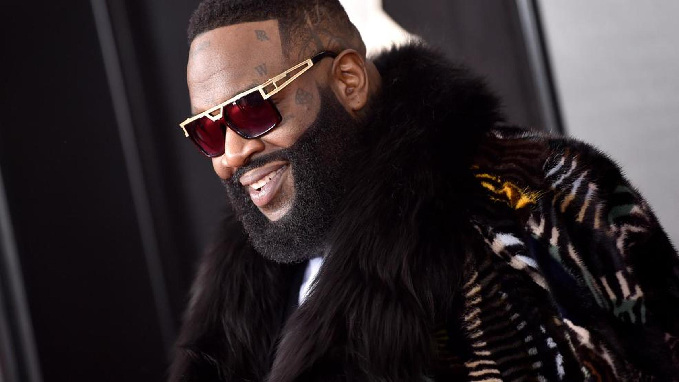 Rapper Rick Ross in the better days (TMZ PHOTO)
