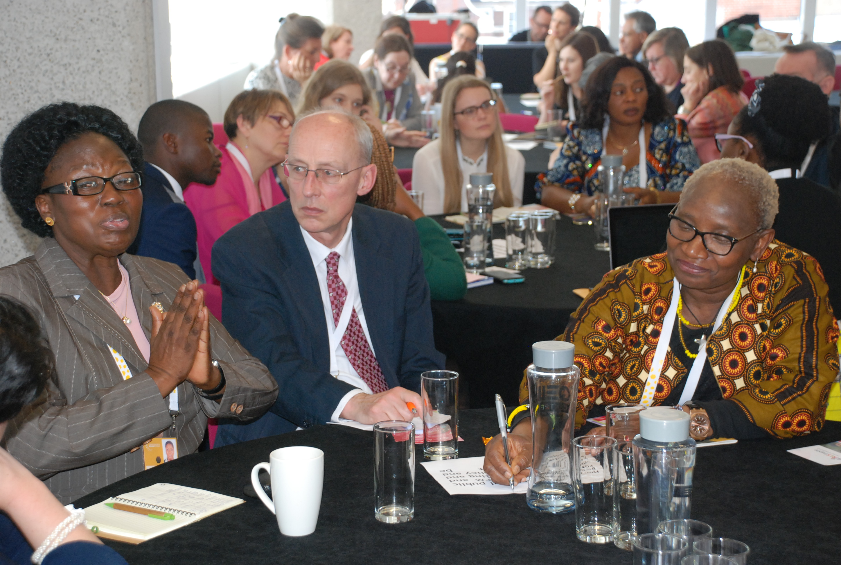 Speaker Rebecca Kadaga speaking to delegates at fourth CWWF in London (2)