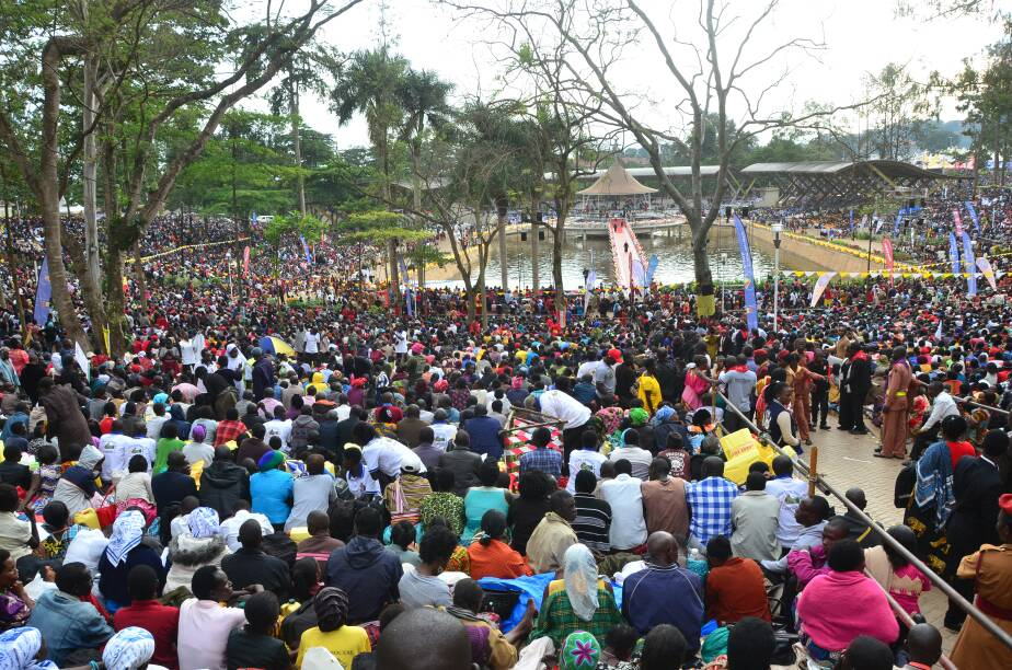 Pilgrims flock the Uganda Martyrs shine every 3rd June (PML PHOTO)