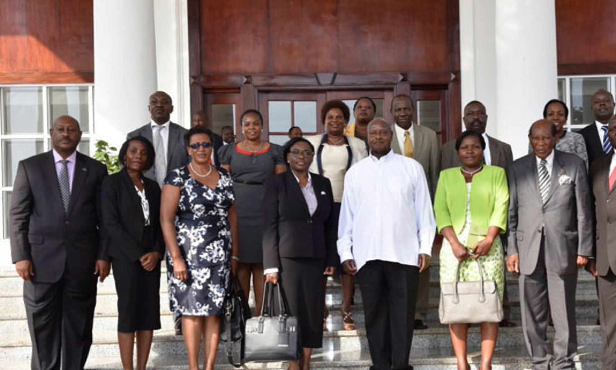 The President, on appointed Lady Justice Catherine Bamugemereire to chair a seven-member Commission of Inquiry December 8, 2016 (COURTESY PHOTO)