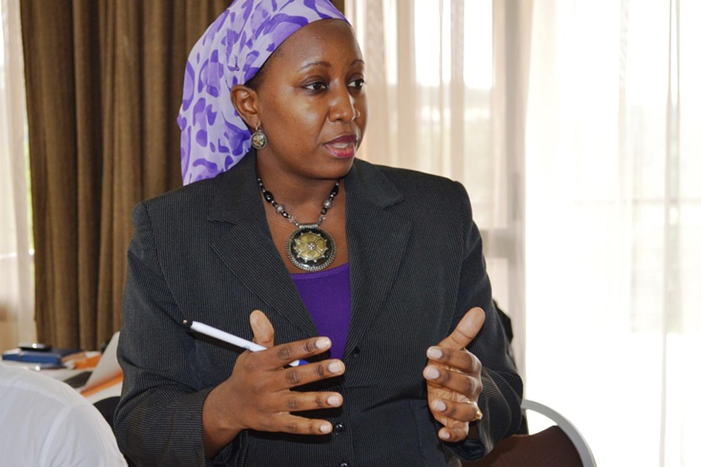 Dr Zahara Nampewo the Director Human Rights and Peace Center Makerere University (HURIPEC) (Courtesy Photo)
