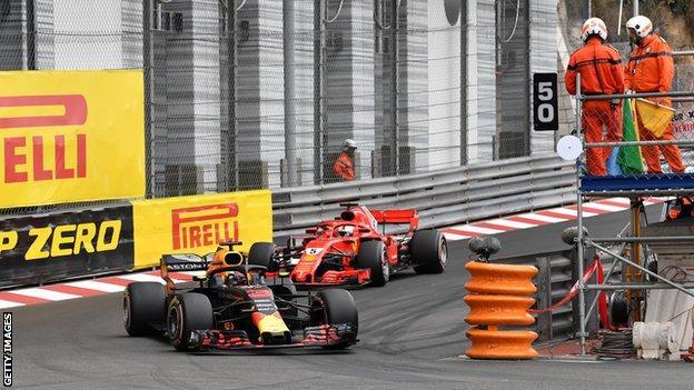 Riccardo led from pole to finish