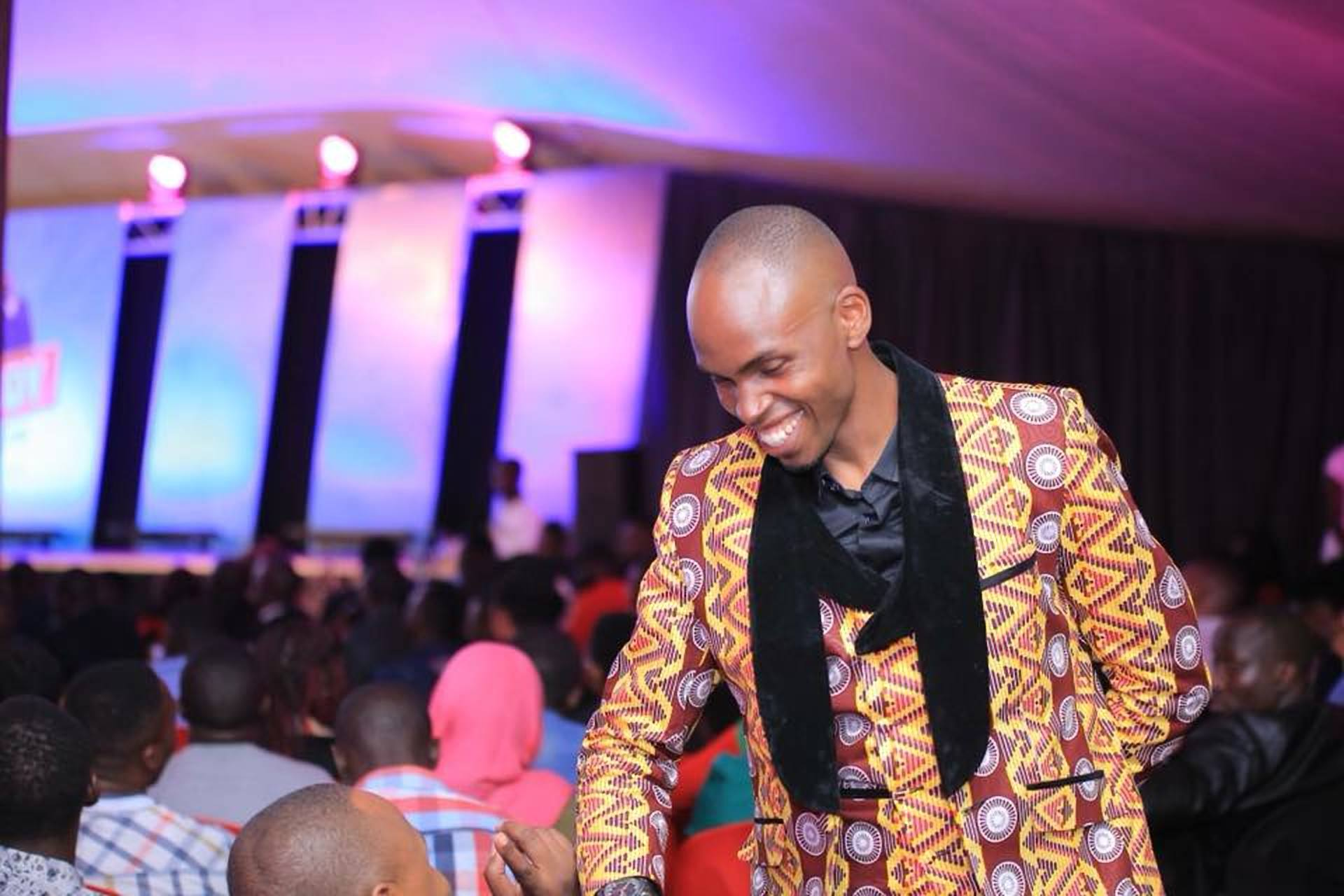 Award winning stand-up comedian and Brainchild of the Comedy store series, Alex Muhangi (COURTESY PHOTO)