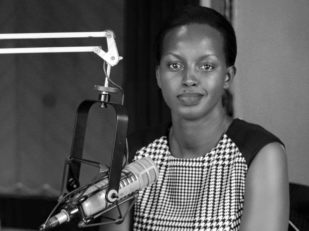 The stunning radio head, Flavia Tumusiime (COURTESY PHOTO)