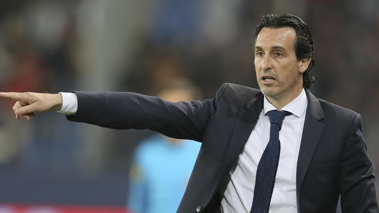 Emery has been PSG manager for the last two seasons
