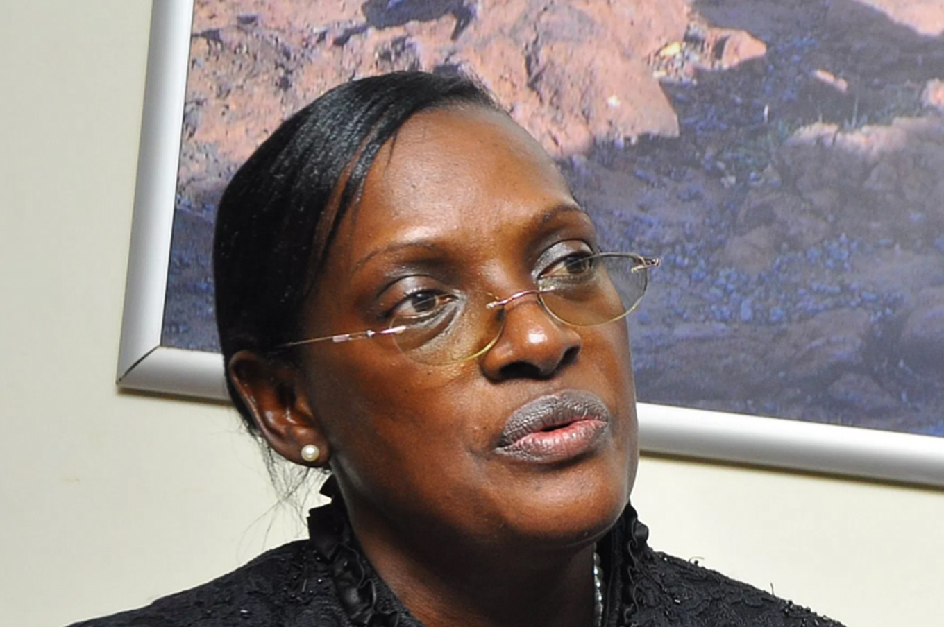 Former Bank of Uganda Director Justine Bagyenda affirmed that she is no longer at the Central Bank and has not business there (FILE PHOTO)