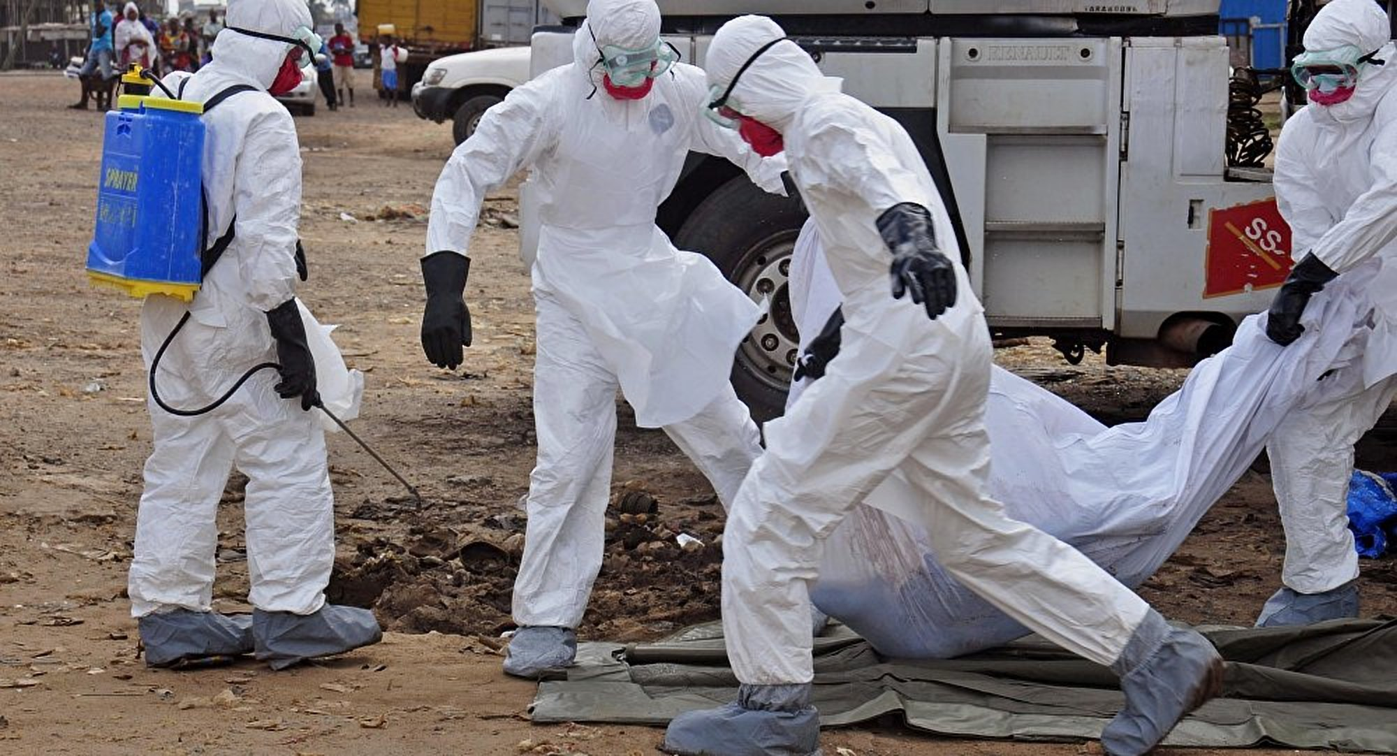 The worst Ebola epidemic ended in West Africa two years ago killing over 11,000 people (FILE PHOTO)