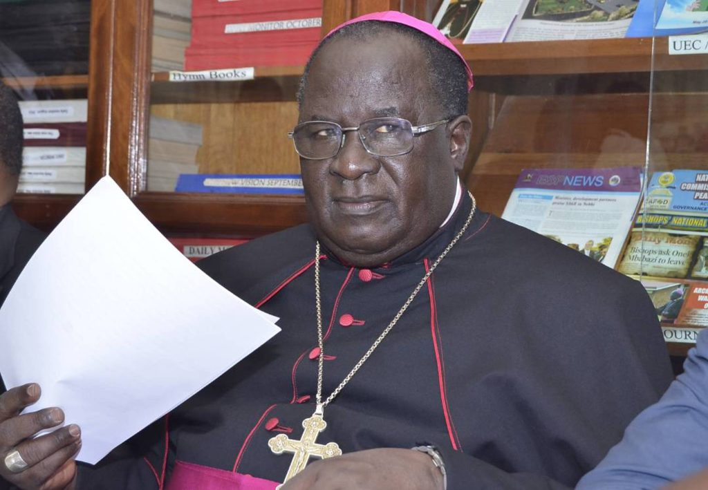 Archbishop of Tororo diocese Emmanuel Obbo will be the main celebrate of the forthcoming Martyrs' day celebrations (PML PHOTO)
