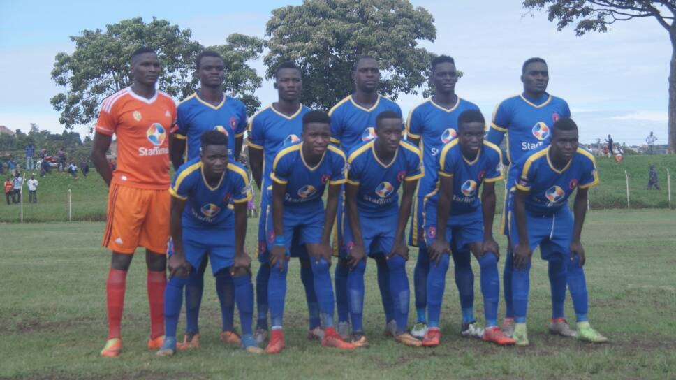The KCCA team that started against Express