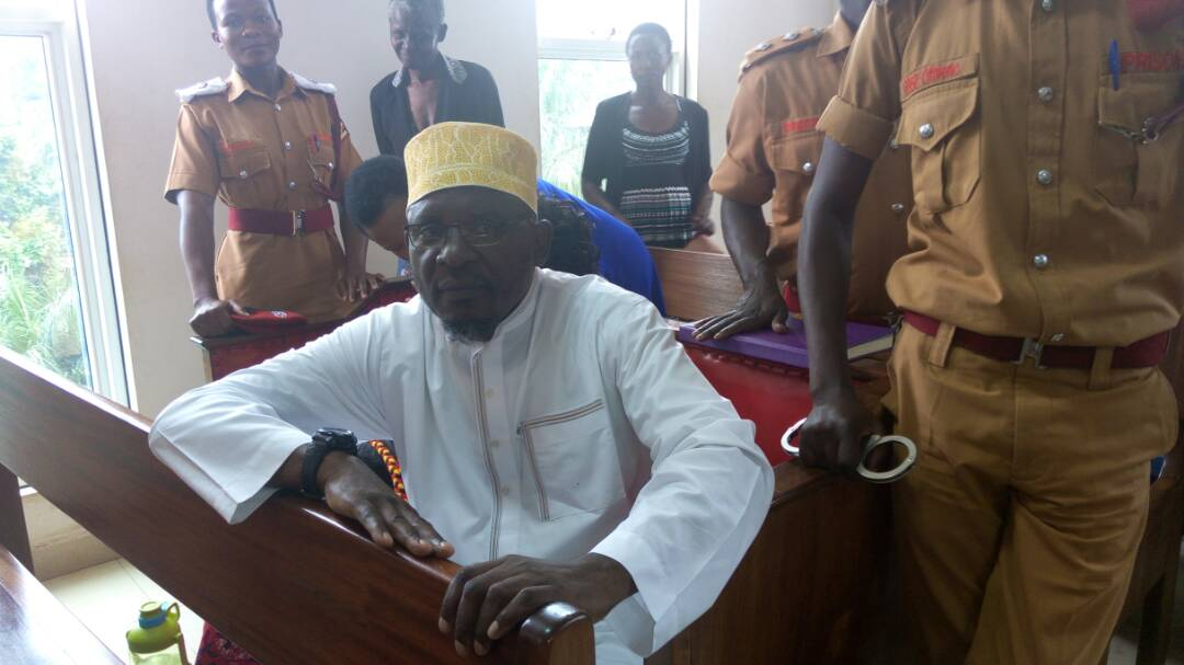 Sheikh Yunus Kamoga at the Court of Appeal in Kampala on Wednesday.