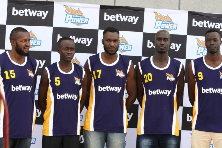 Some of the New signings by BetWay Power (photo by Shaban Lubega).