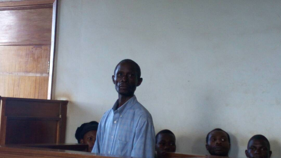 Kanyike in court on Wednesday.