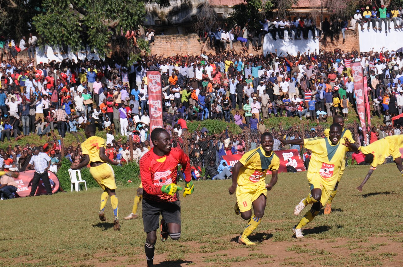 Defending champions Jinja SS booked a date with Blessed Sacrament Kimanya
