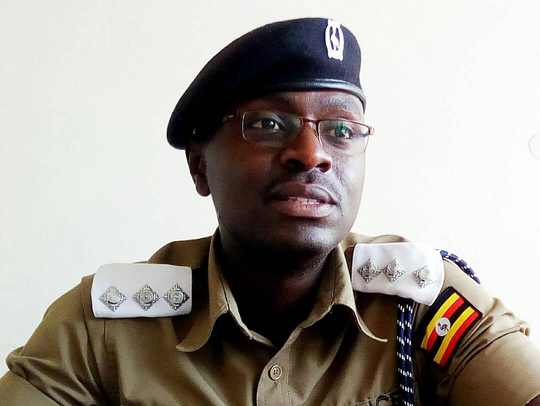Luke Owoyesigyire Kampala Metropolitan Police Spokesperson (COURTESY PHOTO)
