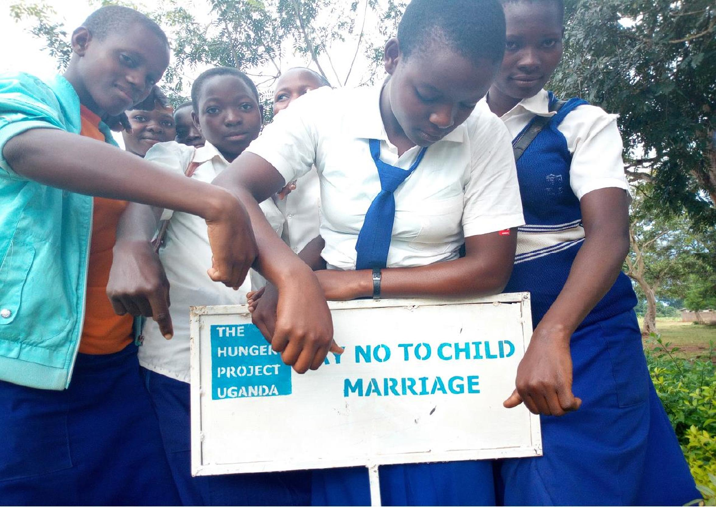 Peer educators in Iganga where THP-U is supporting Her Choice Project (THP Photo)