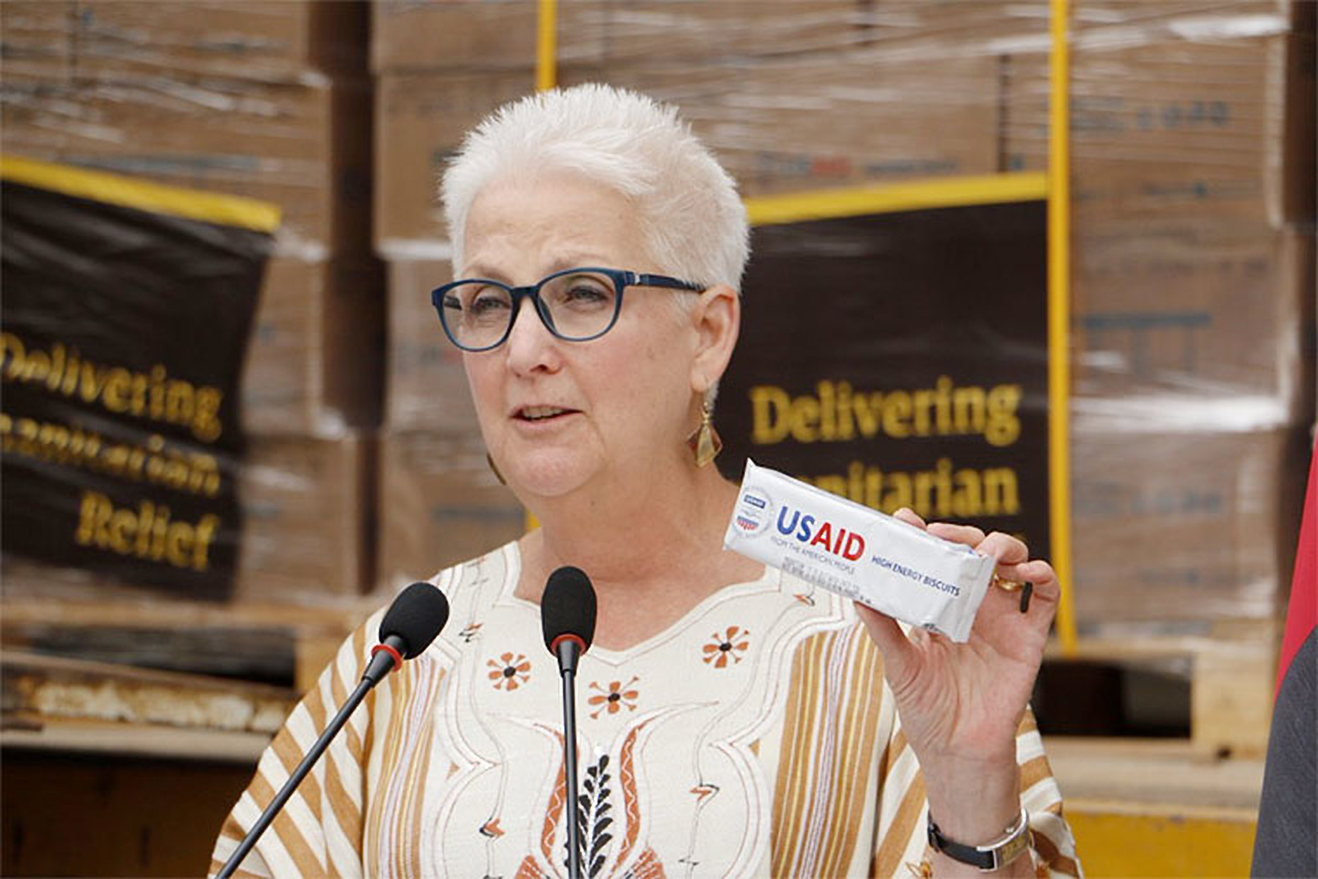 U.S Ambassador to Uganda, H.E Deborah R. Malac has affirmed US's continued support to the refugees in Uganda with (COURTESY PHOTO)
