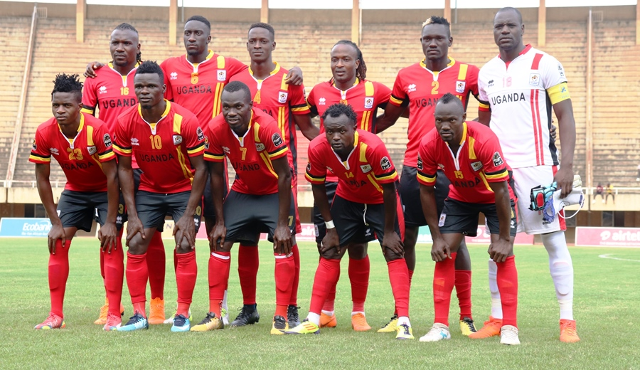 The Cranes team that started against Sao Tome in February
