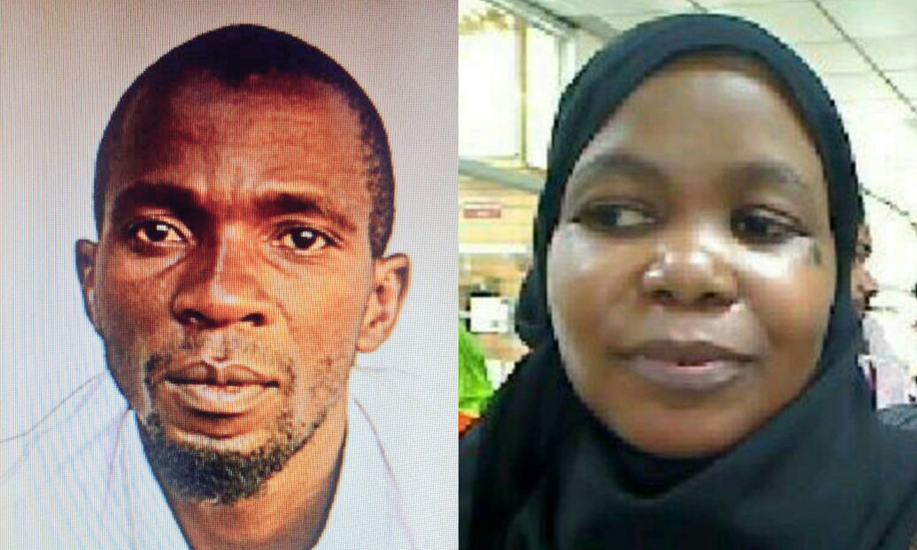 A collage of Yakoub 'Byensi' (L), a key suspect and Zahara (R) who allegedly killed Susan Magara (FILE PHOTO)
