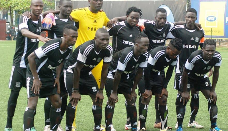 Paidah Black Angels are bottom of the League (file photo)