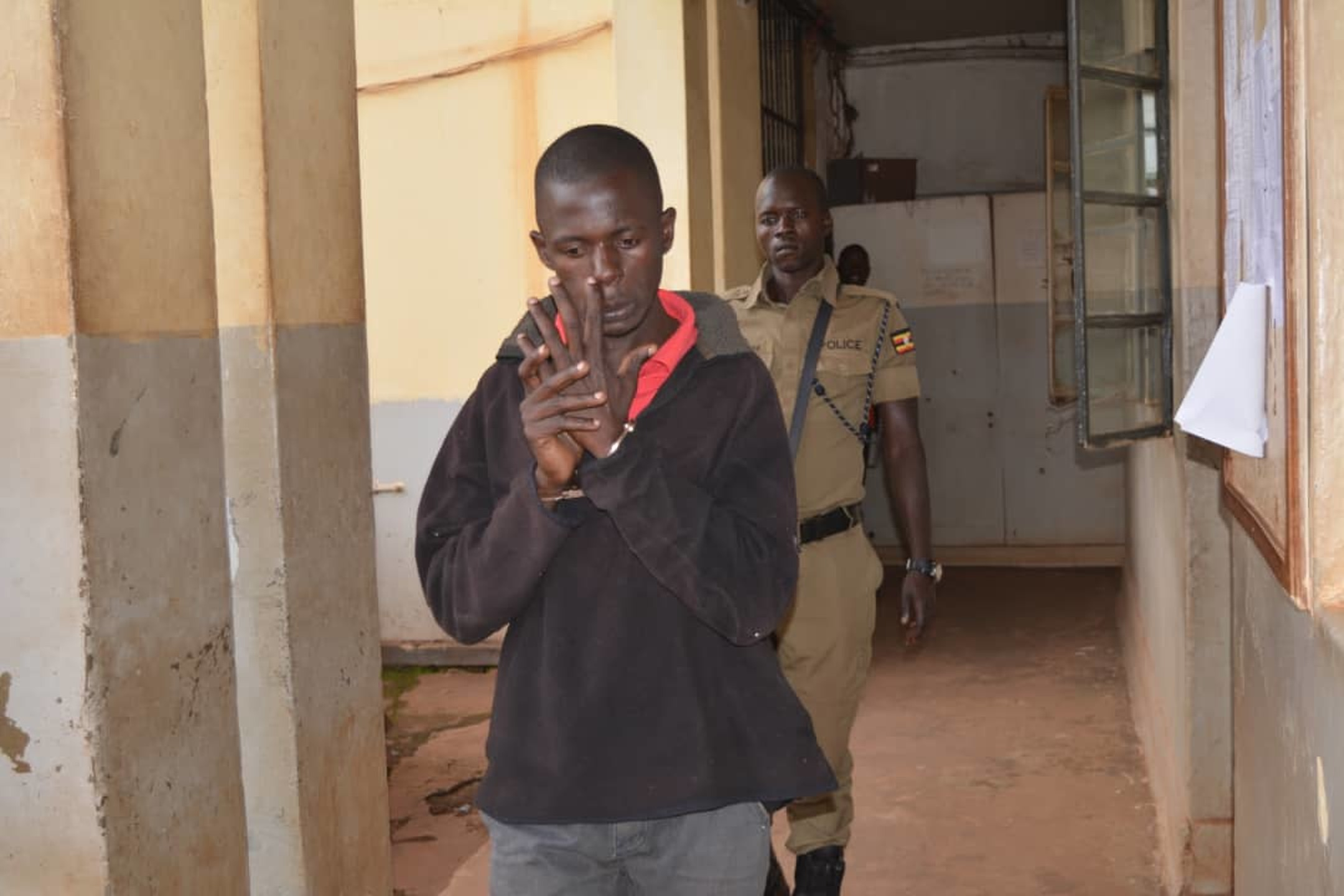 Fahad Kasadha is currently detained at Kawempe Police Station on charges of kidnap, rape and robbery (COURTESY PHOTO)