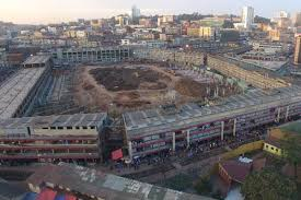 The current state of Nakivubo Stadium