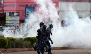 Police officers have been advised to give warning for people to disperse before using teargas