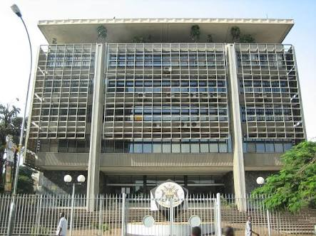 The Central Bank regulates forex bureaus and other financial institutions.