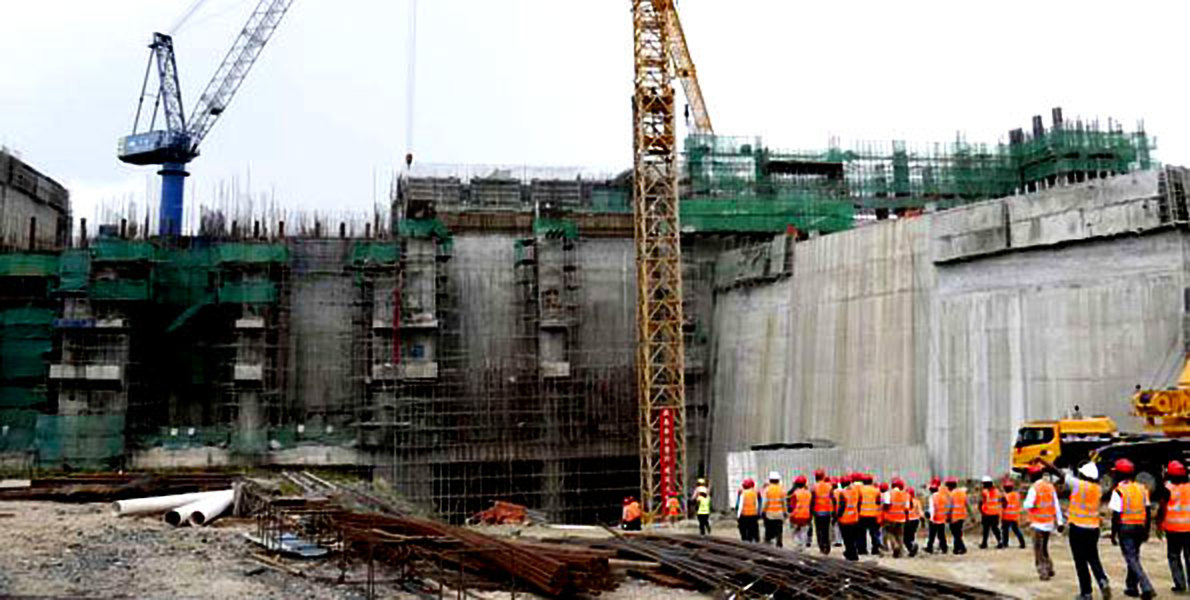 Works continue to stall as compensation legal battle take course (FILE PHOTO)