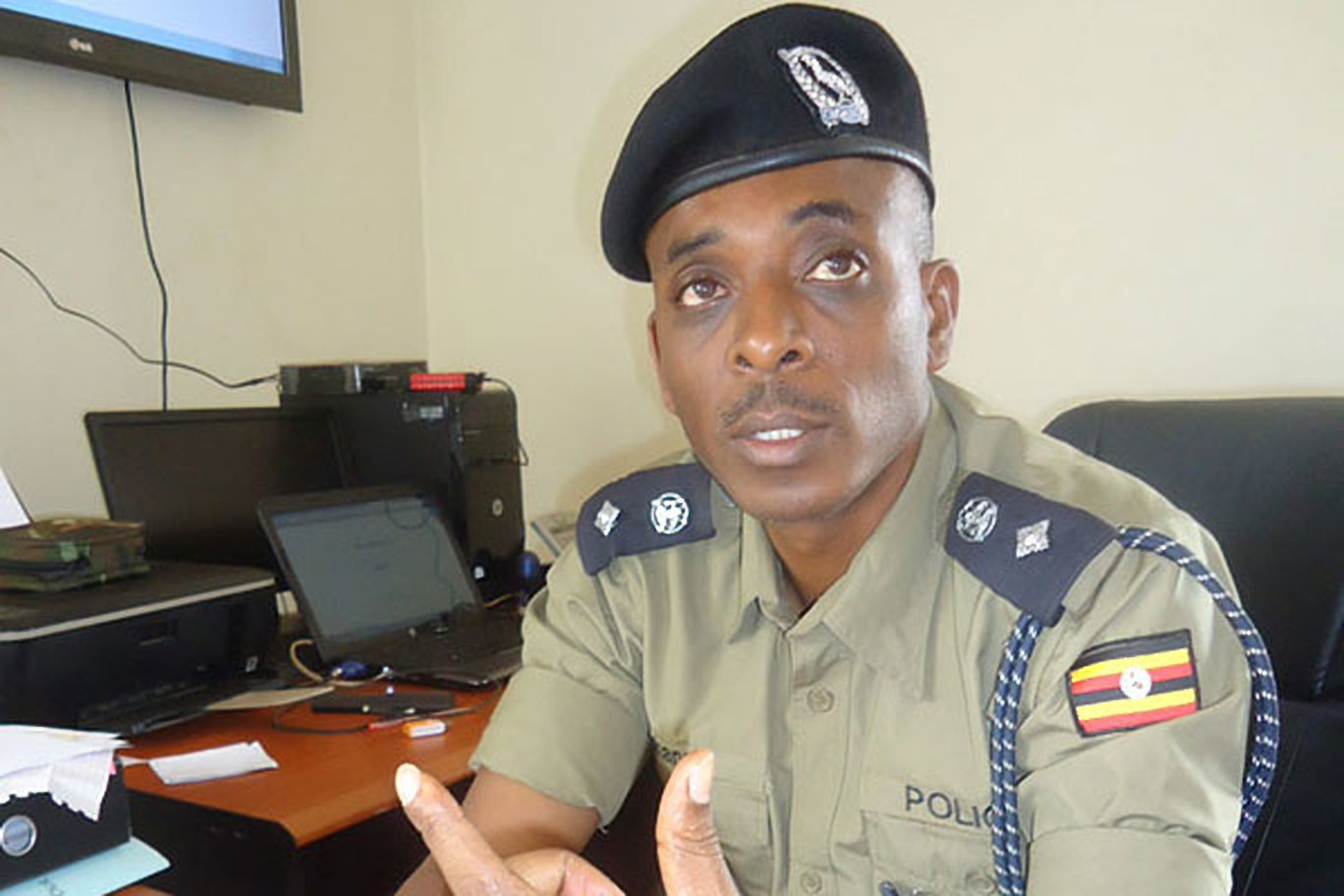 Former Police Flying Squad Unit commandant, ACP Herbert Muhangi,  (FILE PHOTO)