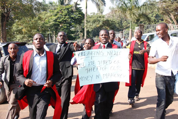The issue of meals has caused untold rife at Makerere