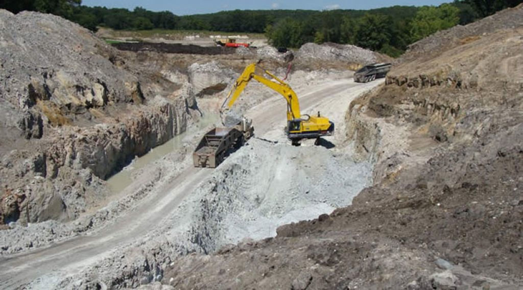 The cabinet has gazetted sand as mineral to control the increased exploitation (COURTESY PHOTO)