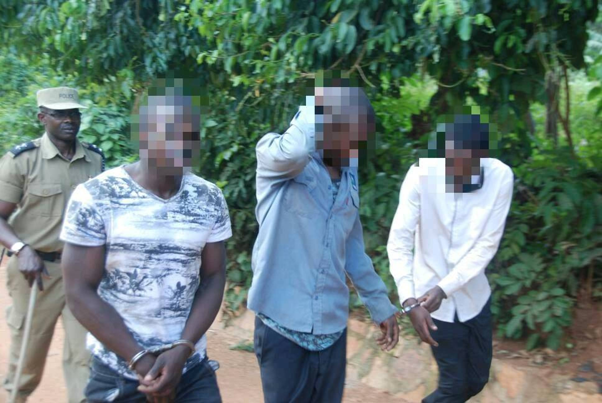 The notorious thugs arrested have terrorised residents with regular break-ins and theft (COURTESY PHOTO)