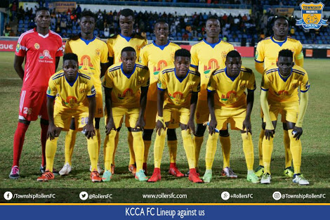 KCCA FC lost their last game 1-0 away to Township Rollers in the Champions League