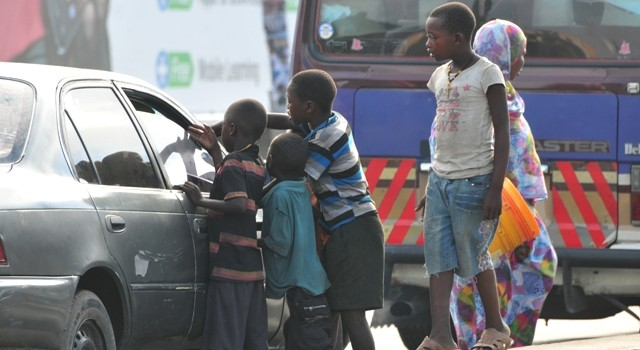 An operation to take the children off streets has started off (FILE PHOTO)