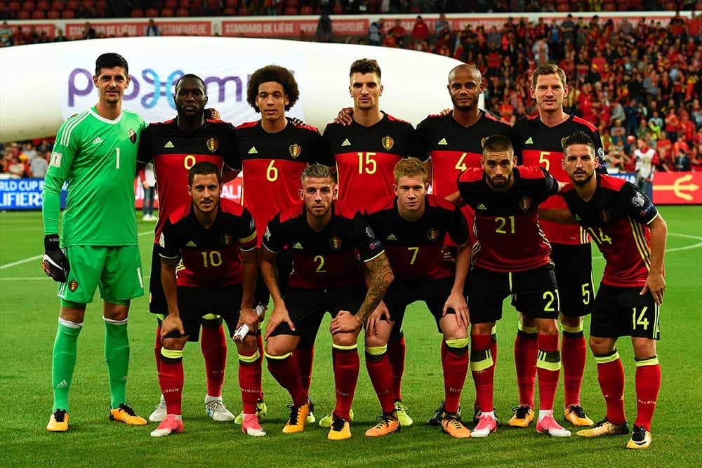 Belgium has one of the most talented squads at the World cup