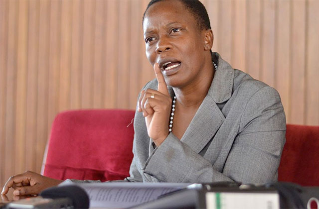 Shadow Minister of ICT and also Mukono Municipality MP Betty Nambooze Bakireke. (FILE PHOTO)
