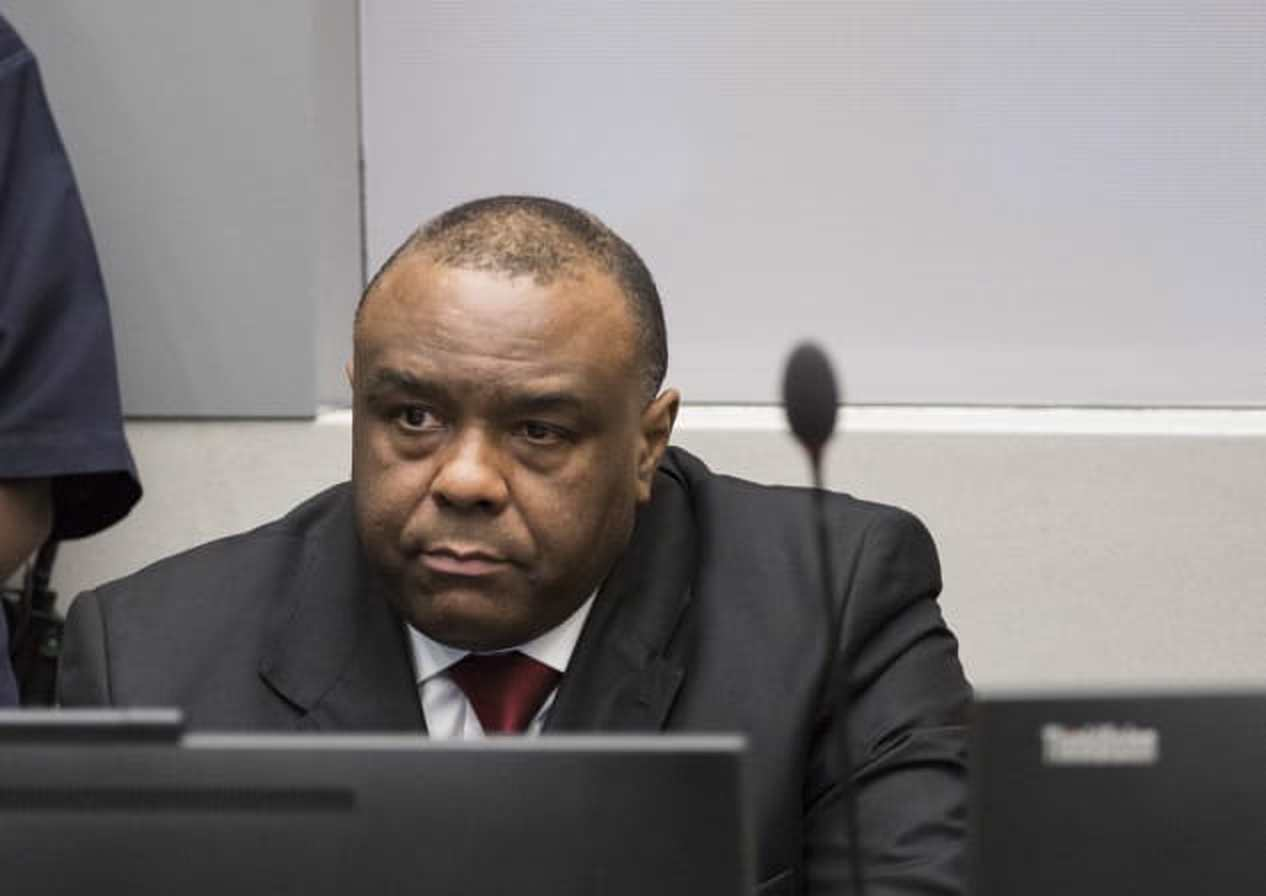 Congolese rebel warlord and Democratic Republic of Congo Vice President Jean -Pierre Bemba attends a court session. He was acquitted Friday (AFP PHOTO)