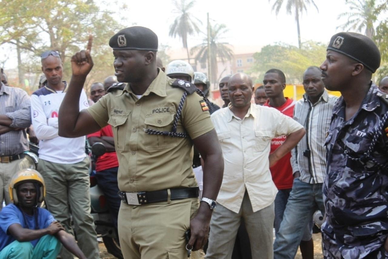 Mbarara District Police Commander Jaffar Magyezi (FILE PHOTO)