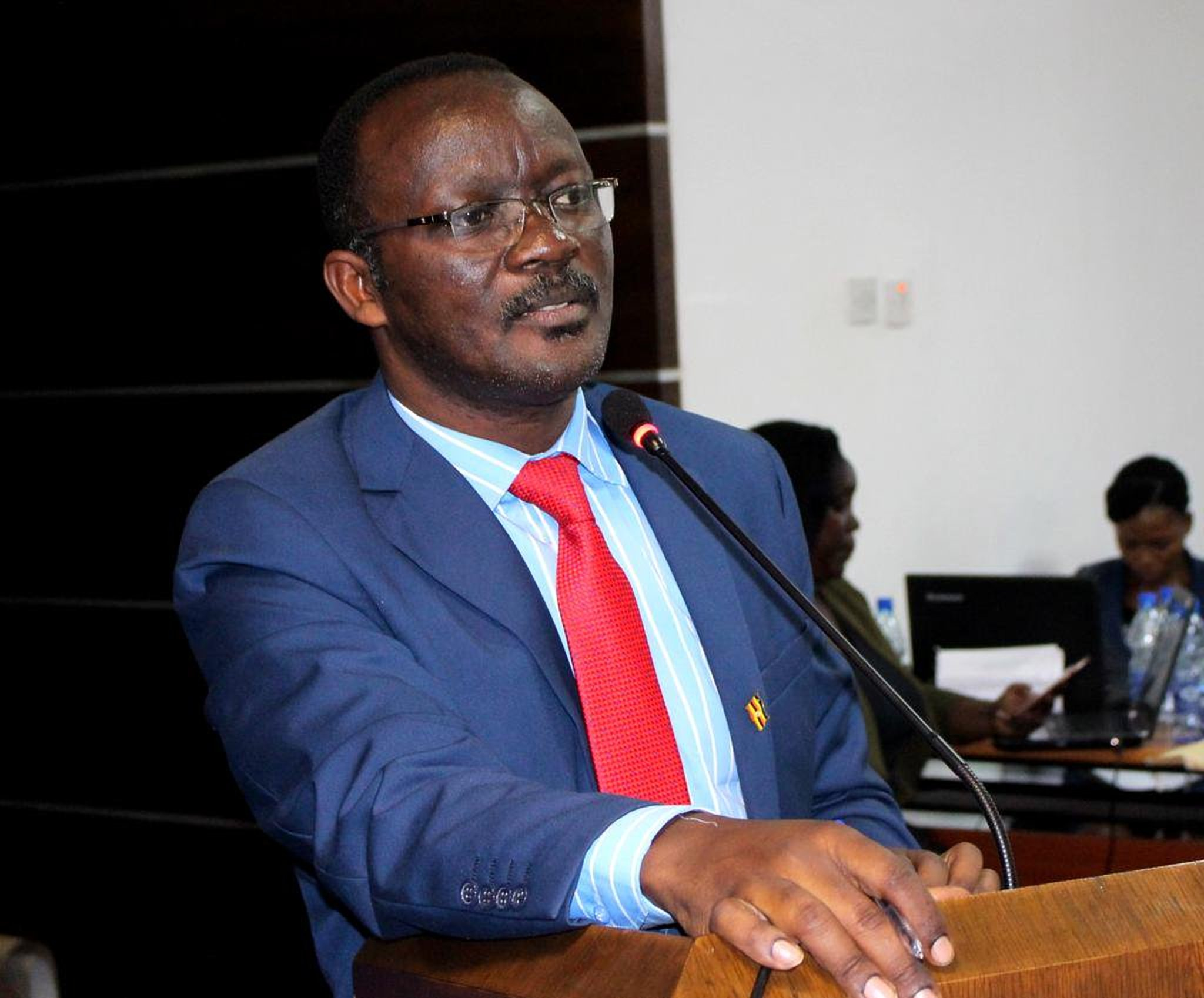 NWSC MD Dr. Silver Mugisha, has revealed the theft of water meters continues to sabotage the water distribution. (PHOTO/File)