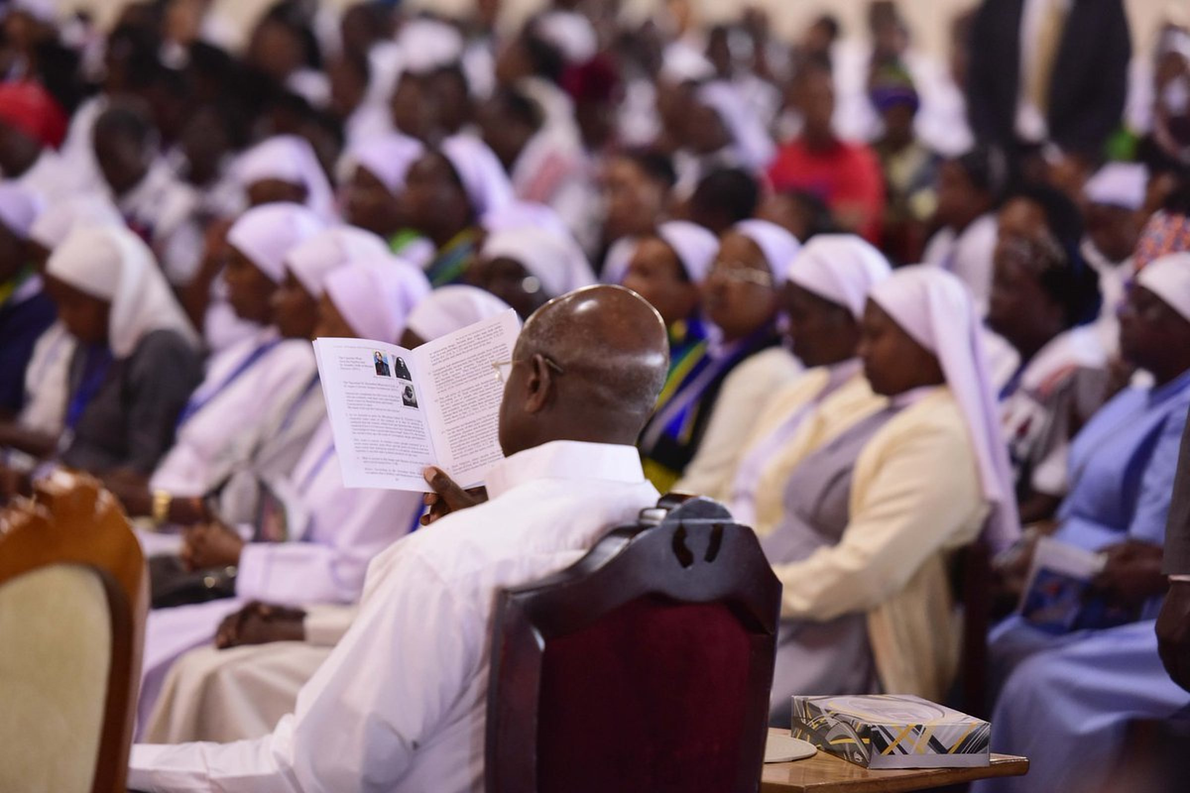 President Museveni joins Catholic faithfuls in Namugongo to celebrate Nyerere Day ahead of   Martyrs Day 2018 (PPU PHOTO)