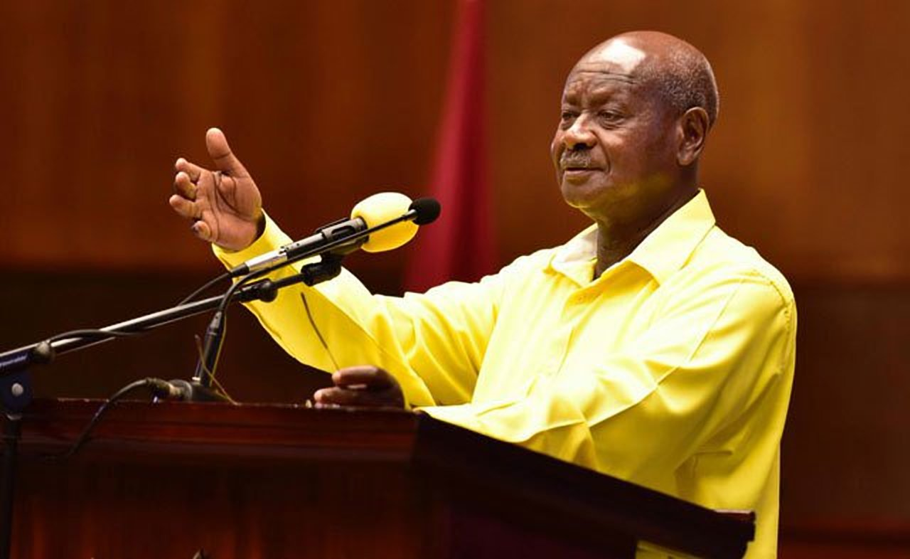 President Museveni on Wednesday said people accused of murder should not be given bail