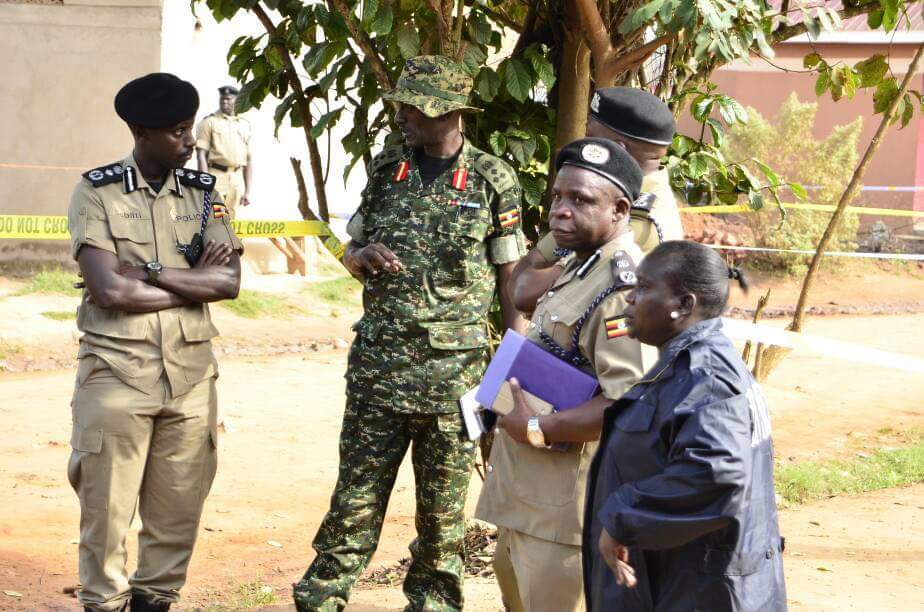Police grantee peace at Nebbi and Arua park as rumors were earlier saying that West Nile people want to stage a strike there
